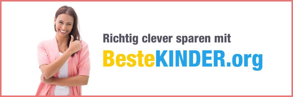 Richtig clever sparen mit BesteKINDER.org