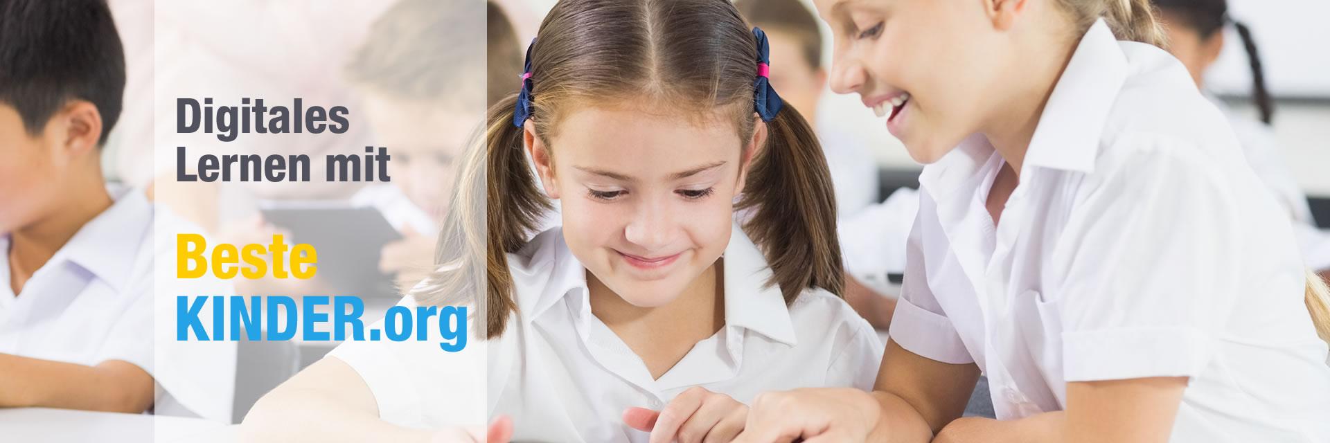 Digitales Lernen mit BesteKINDER.org