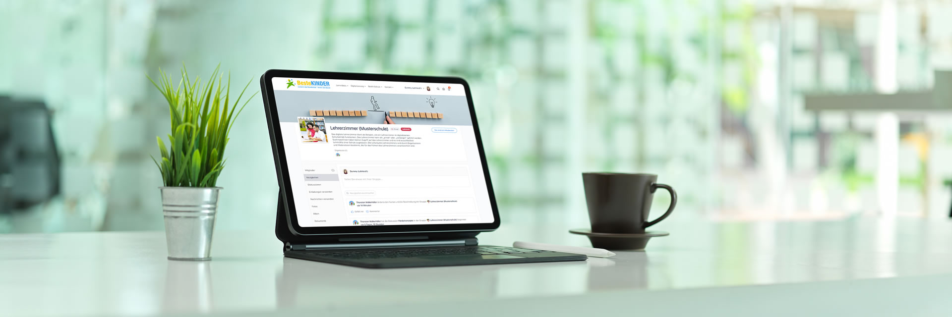 Digitales Lehrerzimmer