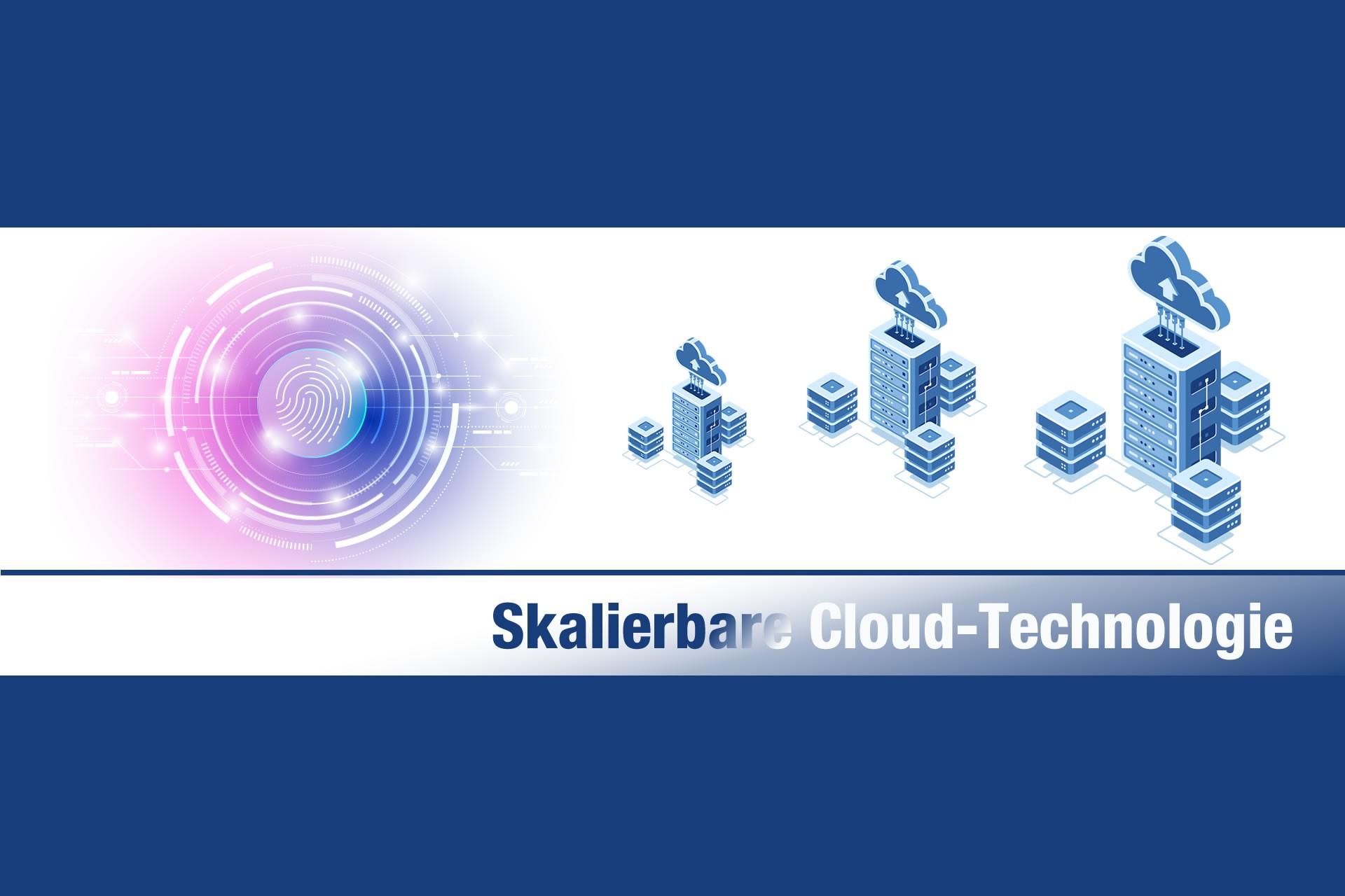 Technologie: Skalierbare Cloud-Technologie